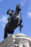 charles square jag den trafalgar statyn Royaltyfri Bild