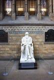charles statua Darwin Obrazy Stock
