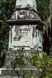 Charles Stubbs Cemetery Statuary Statue Bonaventure Cemetery Savannah Georgia fotografía de archivo