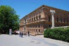 Charles V Palace, Alhambra Palace. Stock Photography