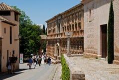 Charles V Palace, Alhambra Palace. Royalty Free Stock Photography