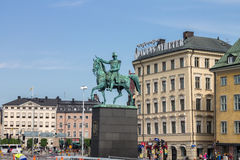 Charles XIV Statue Stockholm Royalty Free Stock Images