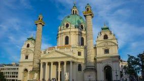 Charless Karls Kirche Wien Royalty Free Stock Photos