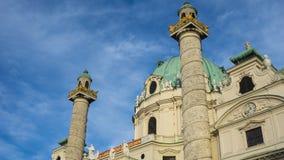 Charless Karls Kirche Wien Royalty Free Stock Photography