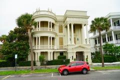 Charleston śródmieścia dom Zdjęcia Stock