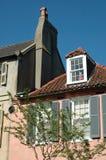Charleston Architecture. Historic building detail taken in Charleton Royalty Free Stock Image