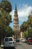Charleston Architecture. Historic church taken in Charleton Royalty Free Stock Image