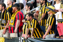 Charleston Battery Supporters Immagine Stock