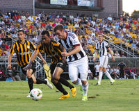 Charleston Battery v. West Bromwich Albion Royalty Free Stock Photo