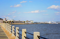 Charleston Battery View Stock Photography