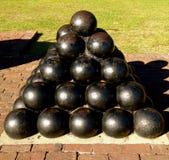Charleston Cannon Ball Statue Royalty Free Stock Image
