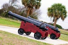 Charleston Canons Royalty Free Stock Photos