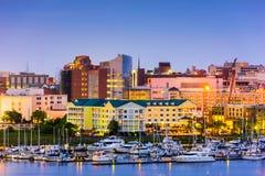 Charleston, Carolina Cityscape del sud immagine stock libera da diritti