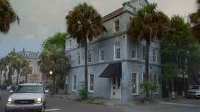 Charleston/Carolina del Sur/los E.E.U.U. almacen de video