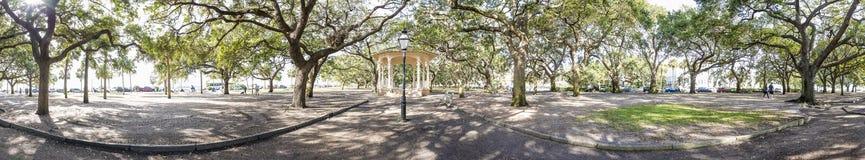 "Charleston 360 degree panorama. 300 degreen panorama of ""The Battery"" in downtown Charleston, South Carolina Royalty Free Stock Photography"