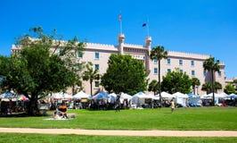 Charleston Farmers Market Royalty-vrije Stock Afbeelding