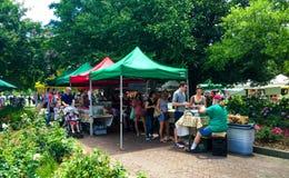 Charleston Farmers Market imagem de stock