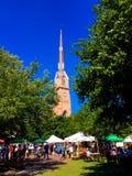 Charleston Farmers Market Stock Photo