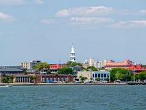 Charleston Harbor Photographie stock libre de droits