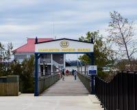 Charleston Harbor Resort Imagen de archivo libre de regalías