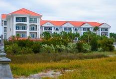 Charleston Harbor Resort et marina Images libres de droits