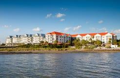 Charleston Harbor Resort och marina Fotografering för Bildbyråer