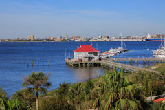 Charleston Harborside Resort and Marina Stock Photo