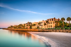 Charleston Historic Homes District Stock Image
