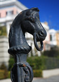 Charleston Hitching Post stock photography