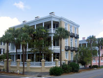 Charleston house Stock Photo