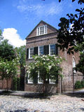 Charleston house. Historic house in charleston south carolina stock photography