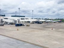 Charleston International Airport Gateway stock foto