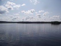 Charleston Lake bij Middag Royalty-vrije Stock Foto