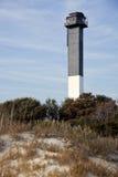 Charleston lighthouse stock image