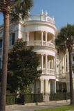Charleston Mansion. Nice view of a historic, Southern mansion in historic Charleston, SC stock image