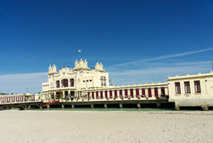 Charleston of Mondello on the beach. Stock Image