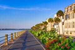 Charleston na baterii Zdjęcia Royalty Free