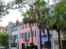 Charleston, Południowa Karolina, Maj 4, 2017, Południowy styl stwarza ognisko domowe w historycznym okręgu Charleston Fotografia Stock