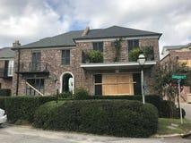 Charleston Prepares pour un ouragan Photographie stock libre de droits