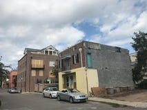 Charleston Prepares pour un ouragan Photos libres de droits