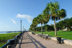 Charleston, SC. Waterfront park in Charleston, SC Stock Images