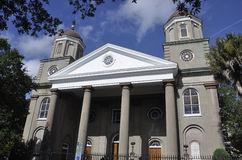 Charleston SC,August 7th:Church from Charleston in South Carolina Stock Image