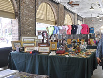 Charleston SC,August 7th:City Market interior from Charleston in South Carolina Stock Image