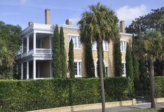 Charleston SC,August 7th:Historic House from Charleston in South Carolina Stock Photos