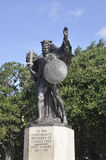 Charleston SC,August 7th:Monument of Confederate Defenders of Charleston from Charleston  Royalty Free Stock Image