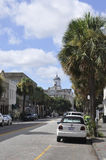 Charleston SC,August 7th:Street view from Charleston in South Carolina Stock Photo