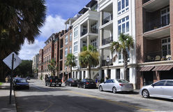 Charleston SC,August 7th:Street view from Charleston in South Carolina Royalty Free Stock Photography
