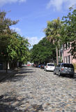 Charleston SC,August 7th:Street view from Charleston in South Carolina Royalty Free Stock Image