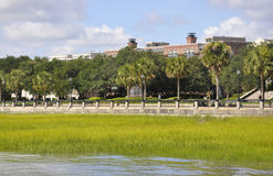 Charleston SC,August 7th:Waterfront Park from Charleston in South Carolina Royalty Free Stock Photo