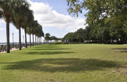 Charleston SC,August 7th:Waterfront Park from Charleston in South Carolina Stock Image